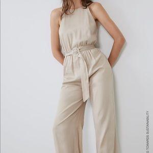 Zara flowy jumpsuit NWT